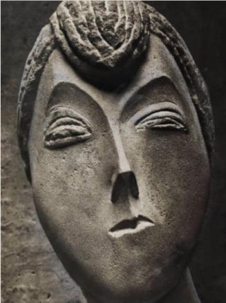 """""""Portret de femeie"""" de Constantin Brancusi, vandut in licitatie la Bucuresti. Cu ce suma a fost cumparat"""