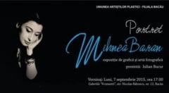 """""""Portretele"""" artistului Mihnea Baran, la Galeriile de arta """"Frunzetti"""" din Bacau"""