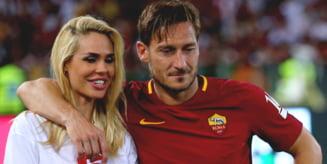 """""""Prima intalnire a fost un dezastru!"""" Francesco Totti si Ilary Blasy au sarbatorit 16 ani de casnicie FOTO"""