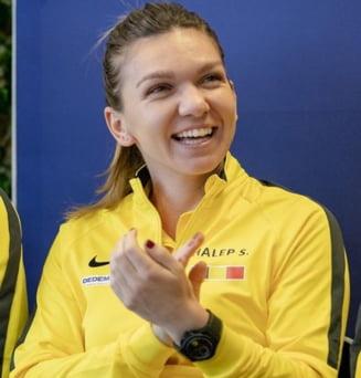 """""""Problema"""" neobisnuita pentru Simona Halep la Roland Garros: E prea fericita ca sa joace la cel mai inalt nivel"""