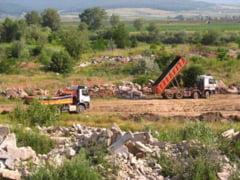 """Regenerarea urbana"" a Devei inseamna poluarea unui teren privat"