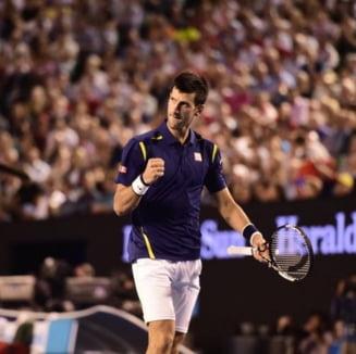 """""""Robotul"""" Djokovici, in finala la Australian Open dupa o victorie splendida cu Federer"""