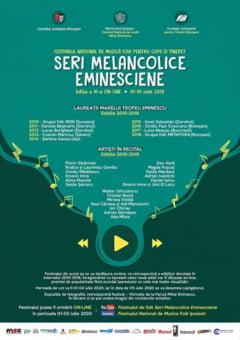"""Serile melancolice eminesciene"" se vor anima online, in acest an"