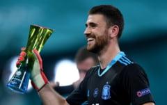 """""""Specialistul"""" Unai Simon, eroul Spaniei in meciul cu Elvetia. Ce i-a spus selectionerul Luis Enrique inainte de penalty-uri"""