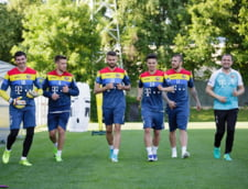 """""""Tricolorii"""" au inceput pregatirea pentru meciul decisiv cu Polonia (Foto)"""