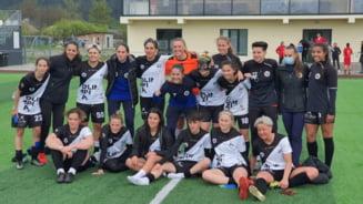 """""""U"""" Olimpia Cluj, la un pas de un nou titlu in fotbalul feminin"""