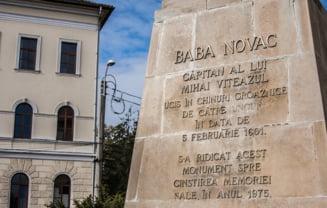 """""""Ungurii"""" au disparut de pe statuia lui Baba Novac din Cluj"""