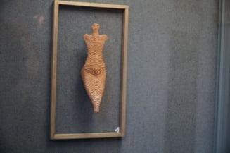 """""""Venus de la Draguseni"""", o statueta exceptionala care reprezinta cultul femeii mama de acum 6.500 de ani"""