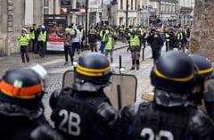 """""""Vestele galbene"""", actul 9: 84.000 de manifestanti, aproape 250 de persoane retinute, jurnalisti agresati de protestatari (Video)"""