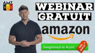 [Webinar Gratuit] - De ce Amazon-ul este inca cel mai bun business pe care il poti incepe cu un buget de startup de aproximativ 5000-6000 USD?!