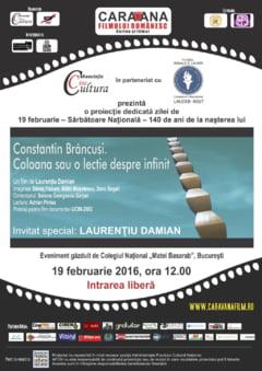 """""""Ziua Nationala Brancusi"""", sarbatorita de catre liceenii din Bucuresti (Video)"""