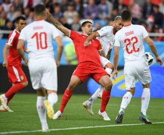 Cupa Mondiala 2018: Elvetia invinge dramatic Serbia. Gol in minutul 90