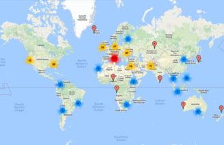 Parlamentare2016 Harta Interactiva Cu Sectiile De Vot Din Diaspora