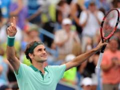 ATP Cincinnati: Roger Federer ii administreaza o lectie de tenis lui Novak Djokovici