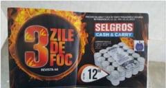 "Aberatia zilei: ""3 zile de foc"" - Selgros anunta reduceri la lumanari"