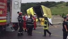 Accident in Brasov: Anchetele continua, unii elevi sustin ca soferul ar fi baut bere