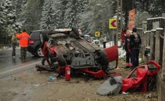 Accidentul lui Huidu: Una dintre victime a fost inmormantata