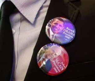 Alegeri SUA: McCain 141 de electori, Obama 206
