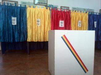 Alegeri europarlamentare 2014: Prezenta la vot, la ora 10 - vezi judetele fruntase