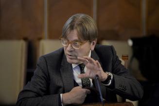 Alegeri europene: Dupa Emmanuel Macron, si Guy Verhofstadt avertizeaza asupra cosmarului populist
