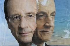 Alegeri in Franta: Hollande castiga turul 1, intra cu Sarkozy in turul 2 UPDATE