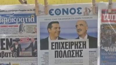 Alegeri in Grecia: Contracandidatul lui Tsipras le cere elenilor sa respinga obscuritatea si minciunile