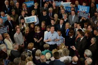 Alegeri in Marea Britanie: Lupta stransa in sondaje, ce sanse are UKIP si cine il ameninta pe Cameron