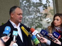 Alegeri in Moldova: Dodon, mesaj pentru Maia Sandu: Inca nu ati crescut pentru a castiga