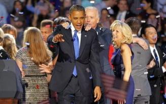 Alegeri in SUA: Obama, felicitat de o lume intreaga, inclusiv Romania