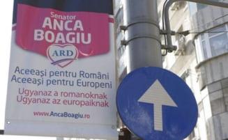 Alegeri parlamentare 2012: Boagiu isi face campanie in limbi straine