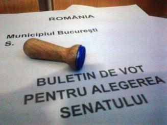Alegeri parlamentare 2012: Prezenta la vot mai buna ca in 2008 - vezi judetele fruntase la ora 18.00