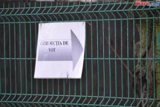 Alegeri parlamentare 2012: Prezenta la vot - 20,56%, Teleorman si Gorj, in frunte