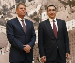 Alegeri prezidentiale: Iohannis si MRU, in ceafa lui Ponta - sondaj INSCOP