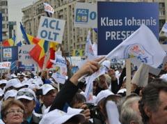 Alegeri prezidentiale: Lansarea lui Iohannis de la Guvern, in imagini (Galerie foto)