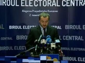 Alegeri prezidentiale 2014: BEC nu prelungeste programul de vot. Ponta ar fi putut s-o faca