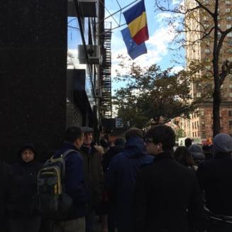 Alegeri prezidentiale 2014: Cozi impresionante la vot si in New York