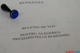 Alegeri prezidentiale 2014: Localitati in care prezenta a depasit cu mult 100%