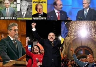 Alegeri prezidentiale 2014 - Jocul numerelor la scrutinele prezidentiale
