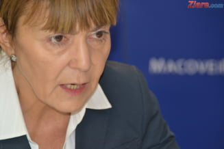 Alegeri prezidentiale 2014 Monica Macovei acuza televiziunile ca ii blocheaza aparitiile