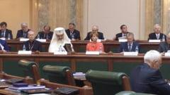 Aniversarea Senatului - Fostii presedinti au laudat institutia, Ponta l-a atacat pe Basescu