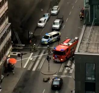 Atac terorist la Stockholm: Soferul a fost prins si arestat. In camion s-au gasit explozibili