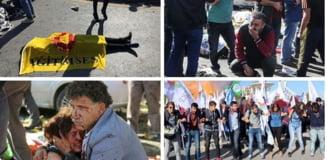 Atentat terorist la Ankara: Nou bilant - 95 de morti, 246 de raniti. Bombele folosite - cu TNT si bile metalice