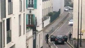 Atentat terorist la Paris: Drapele jihadiste si cocteiluri Molotov, in masina abandonata de atacatori