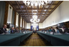 Atentate teroriste la Paris: Sedinta de guvern de urgenta la Palatul Victoria