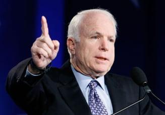 Avion doborat in Ucraina - John McCain: E timpul ca SUA sa dea arme Kievului