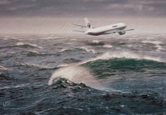 Avion prabusit in Oceanul Indian: Marturia care poate face lumina in acest caz