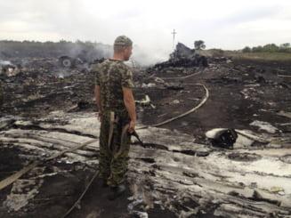 Avion prabusit in Ucraina: Ce plan aveau rebelii pentru a sabota ancheta
