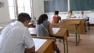 Bacalaureat 2013, sesiunea de toamna: Peste 100 de elevi eliminati