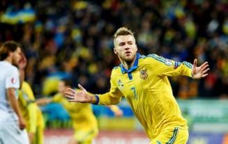Baraj EURO 2016: Ucraina face un pas urias pentru calificarea in Franta