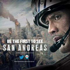"""Box office: """"San Andreas"""", cu Dwayne Johnson in rolul principal, conduce topul incasarilor (Video)"""